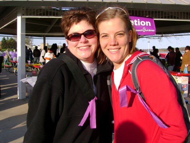 March of Dimes - Stacey and Jodi