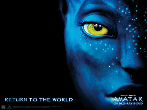 AVATAR, the movie, DVD release