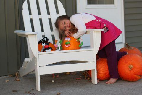 Abbi's Pumpkins 2010
