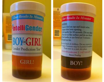 IntelliGender baby gender prediction kit