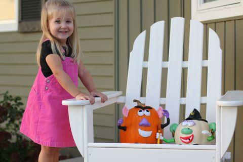 Zoe's Pumpkins 2010