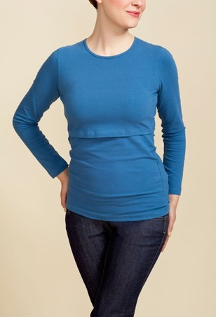 Boob Long Sleeve Nursing Top