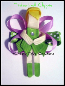 Hairbow-tique Tink Clip