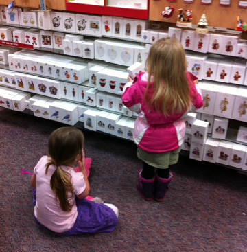 Shopping for Christmas Ornaments