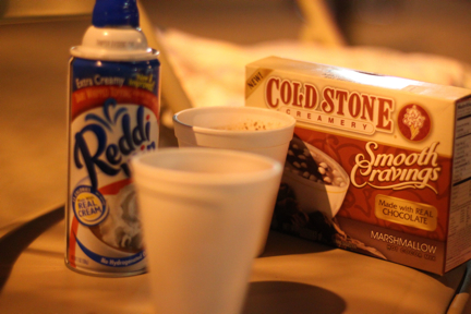 Cold Stone Creamery hot cocoa