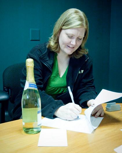 Julie at Gleek Retreat sale
