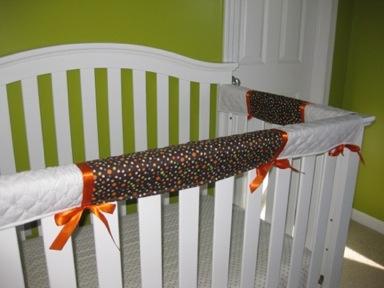 Handmade Crib Teething Guards