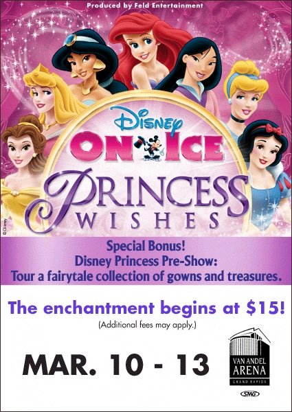 Disney On Ice: Princess Wishes