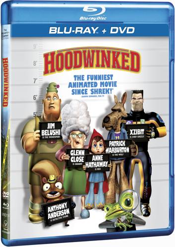 Hoodwinked Blu-Ray/DVD Combo Pack