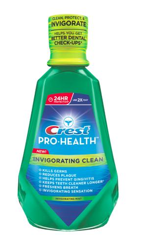 Crest Pro-Health Invigorating Clean Rinse