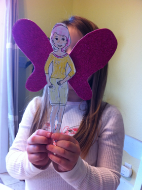 """Barbie Fairy Secret"" dvd & art project"