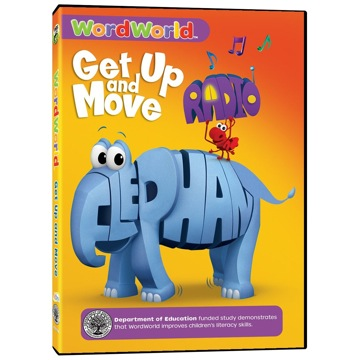 Word World: Get Up and Move dvd