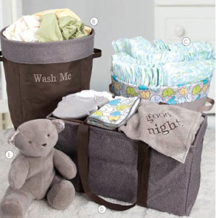 Thirty-One baby organizing ideas