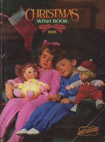 Sears Christmas Wish Book 1984