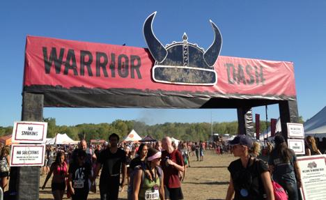 Warrior Dash Grand Rapids