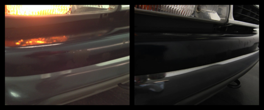 Front Bumper (left: before, right: after)