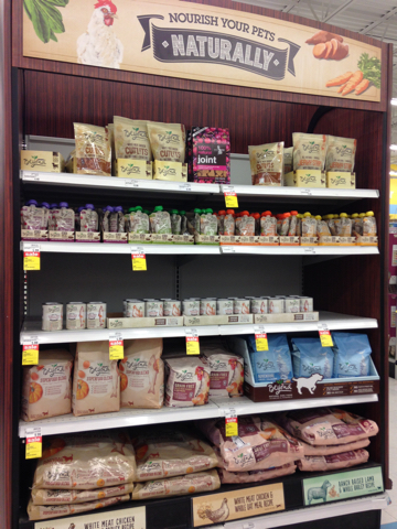 Look for Beyond in specially marked sections of pet food aisles and endcaps.